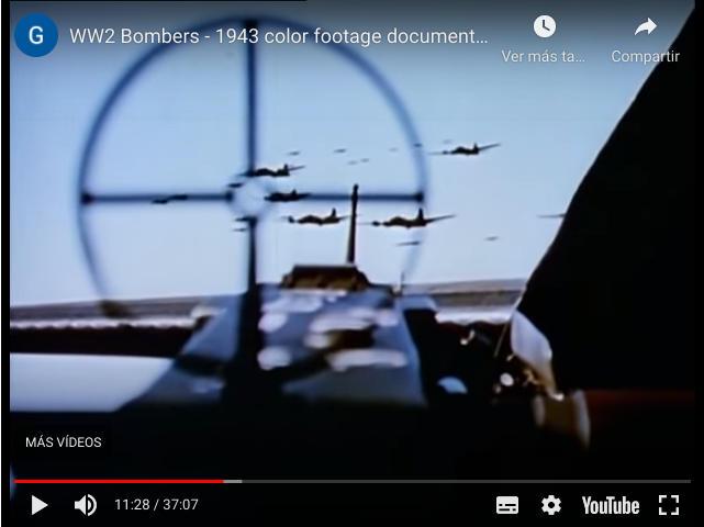 Bombardero Segunda Guerra Mundial