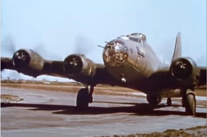 Documental a color de bombarderos de la Segunda Guerra Mundial