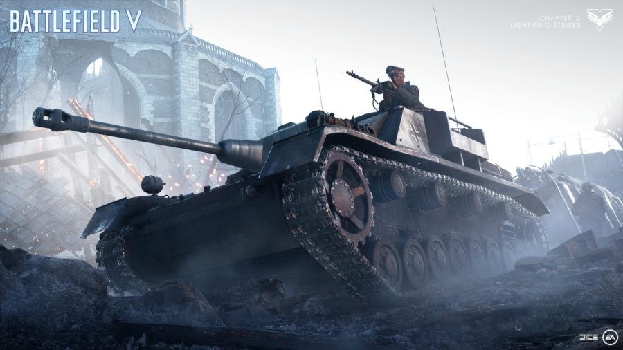 Operación Mercurio Battlefield V