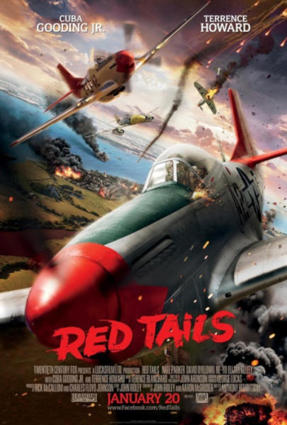 Red Tails. Escuadrón rojo.