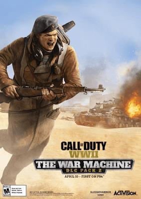COD WWII The War machine DLC Pack 2